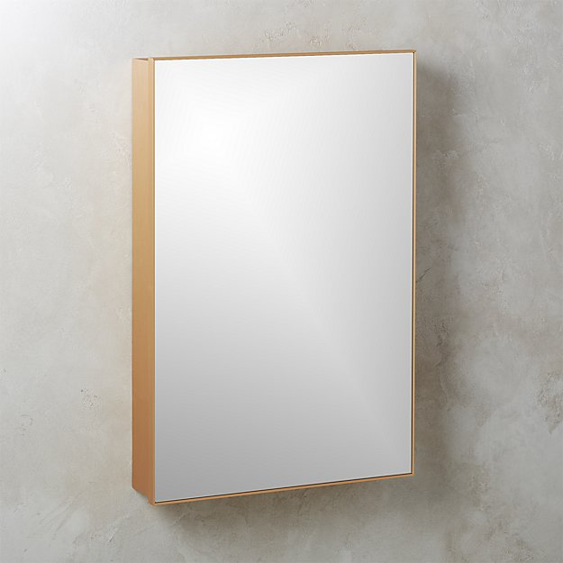 Infinity Recessed Mirror Medicine Cabinet Large Br 24 X36 Reviews Cb2