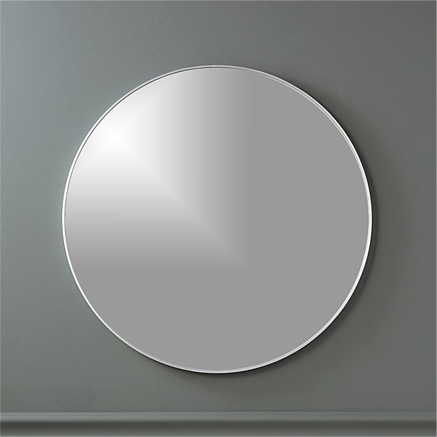 """Infinity 24"""" Round Wall Mirror - Image 1 of 5"""