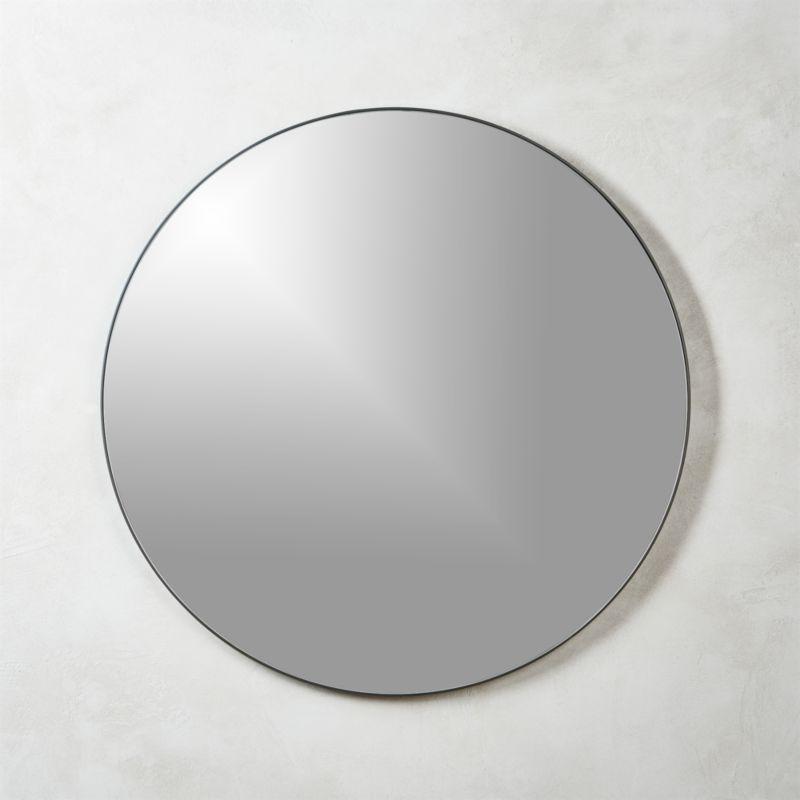 Black Wall Mirrors Cb2