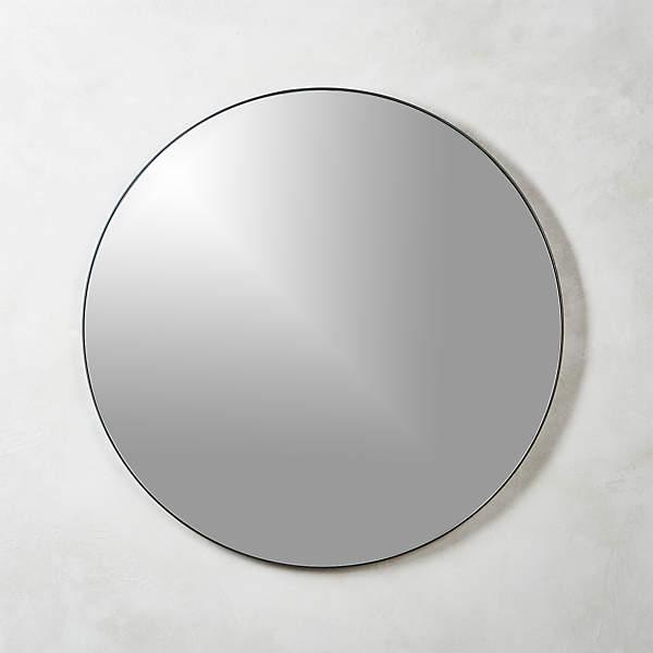 Infinity Black Round Wall Mirror 36, Round Decorative Mirror Canada