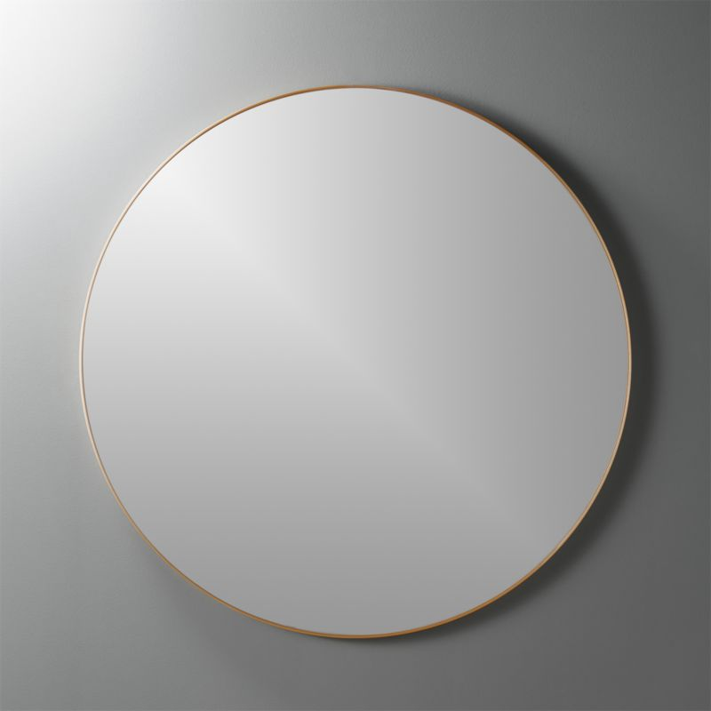Infinity 36 Round Br Wall Mirror