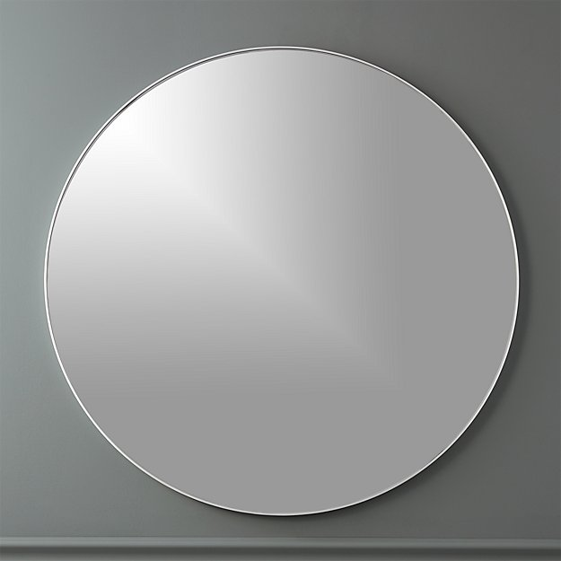Infinity 36 Round Wall Mirror Reviews Cb2