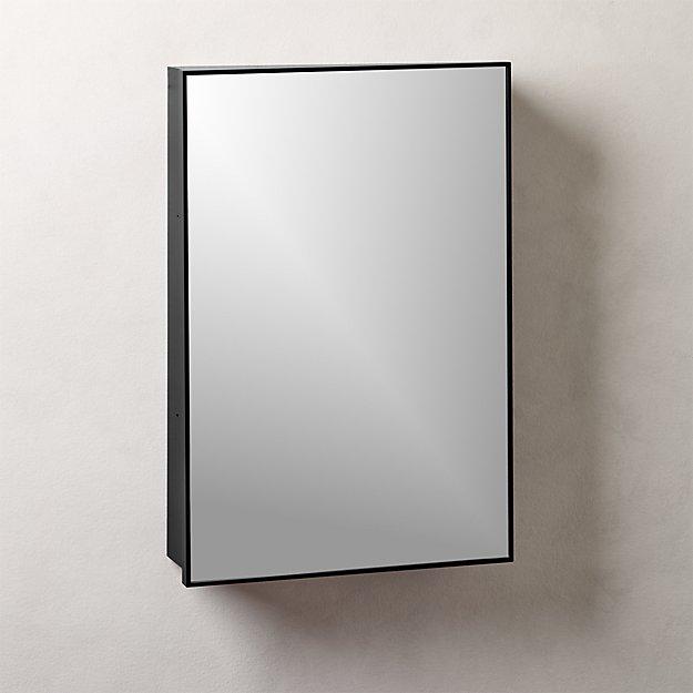"Infinity Black Medicine Cabinet 18""x27"" - Image 1 of 5"