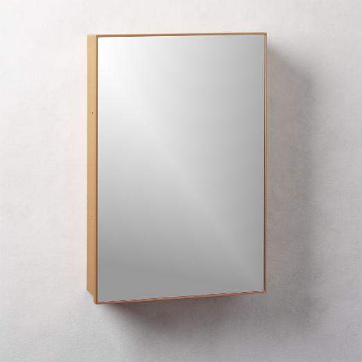 "Infinity Copper Medicine Cabinet 18""x27"""