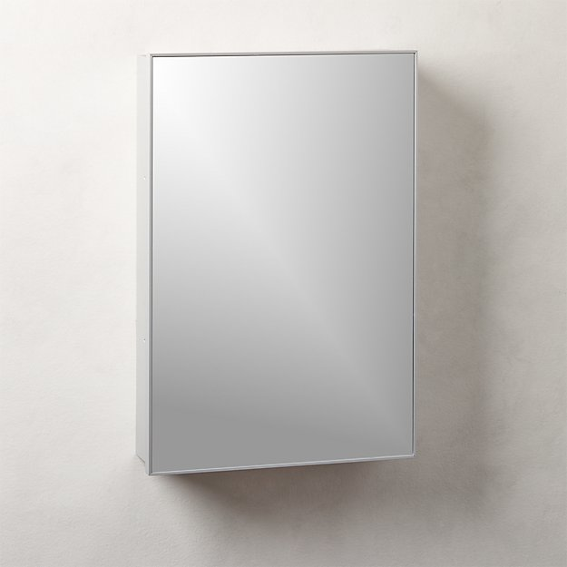 """Infinity Silver Medicine Cabinet 18""""x27"""" - Image 1 of 4"""