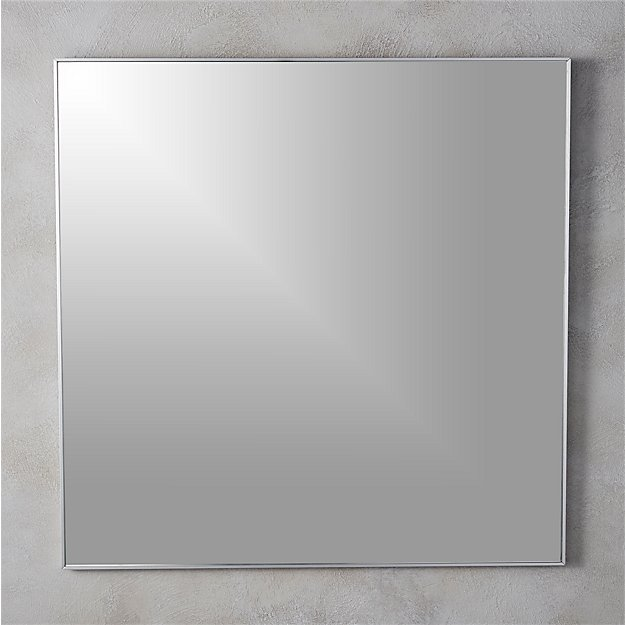 """Infinity 31"""" Square Wall Mirror - Image 1 of 5"""