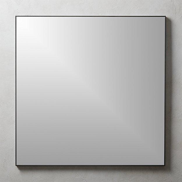 "Infinity Square Black Mirror 31"" - Image 1 of 4"