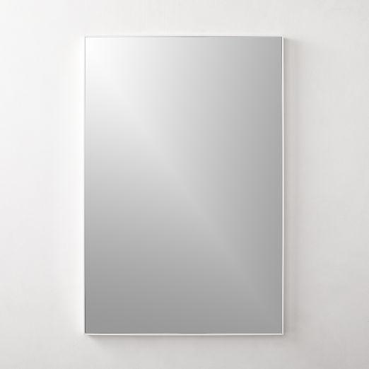 """Infinity White Mirror Rectangular 24""""x36"""""""