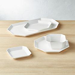Intermix White Dinnerware & Dishes and Dinnerware Sets Sale   CB2
