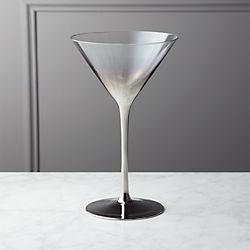 unique martini glasses quirky cocktail irina platinum silver martini glass unique drinking glasses and tumblers cb2