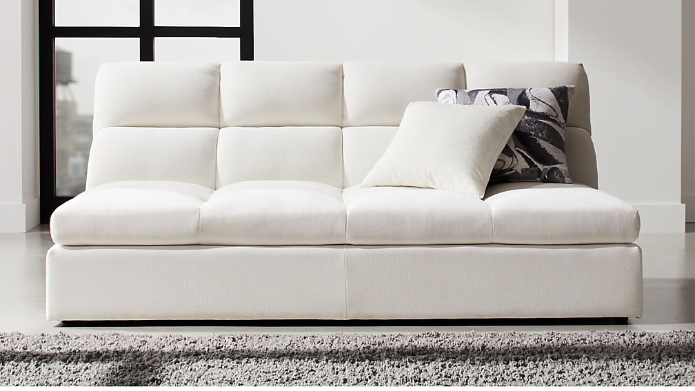 Chill Ivory Chaise Lounge - Image 1 of 9