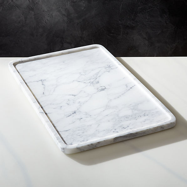 Marble Serving Tray Reviews Cb2 Canada