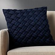 Navy Blue Throw Pillows Cb2