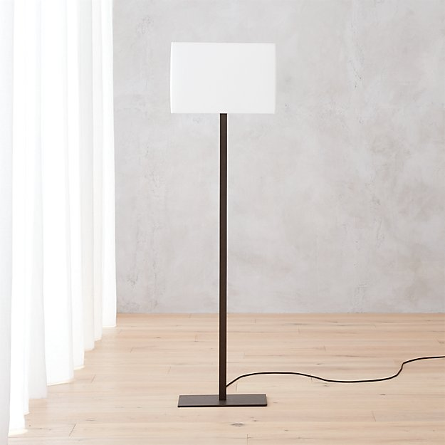 John floor lamp reviews cb2 johnfloorlampironshf16 aloadofball Image collections