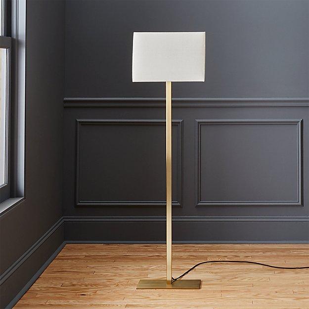 John Metallic Bronze Floor Lamp - Image 1 of 10