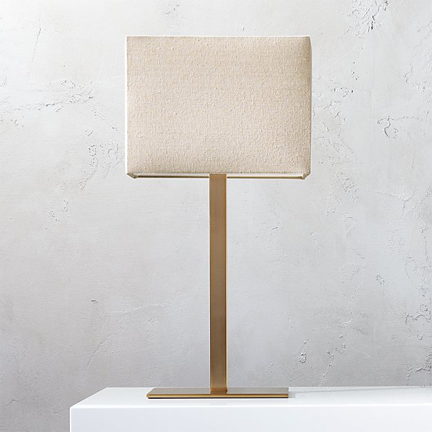 John Bronze Table Lamp + Reviews | CB2