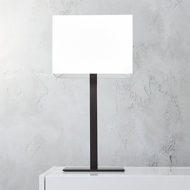 John Rectangular Table Lamp Reviews Cb2