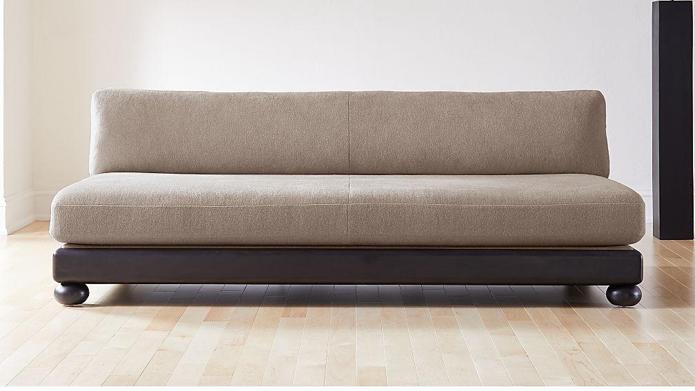 Bun Armless Sofa - Image 1 of 7