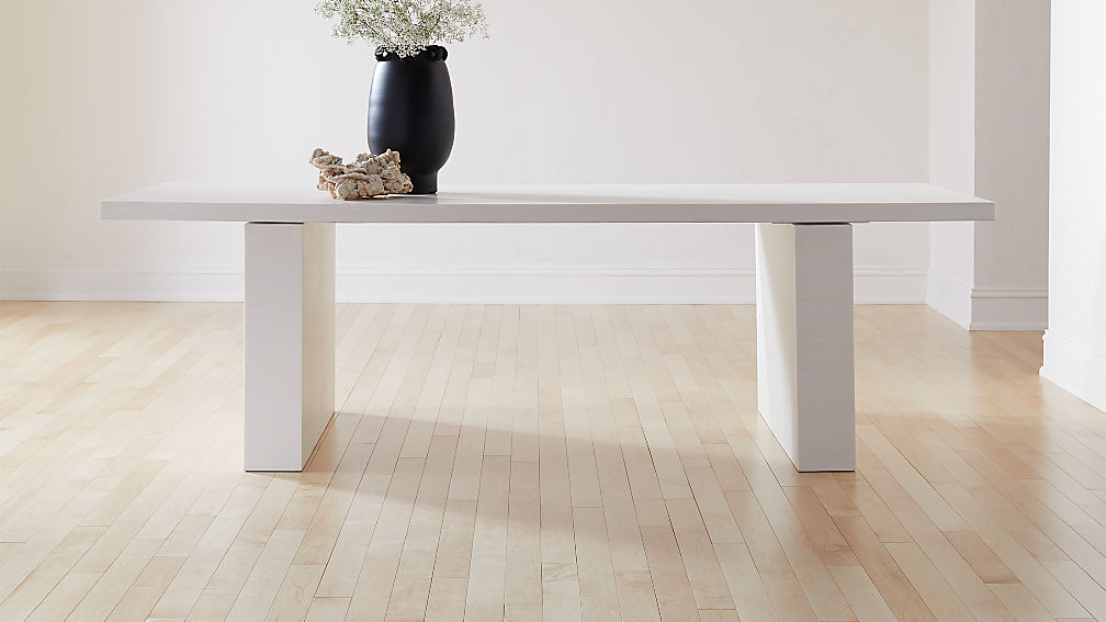 Coated Resin Dining Table - Image 1 of 7
