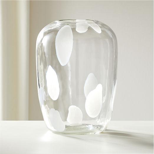 Voir Clear Glass Vase