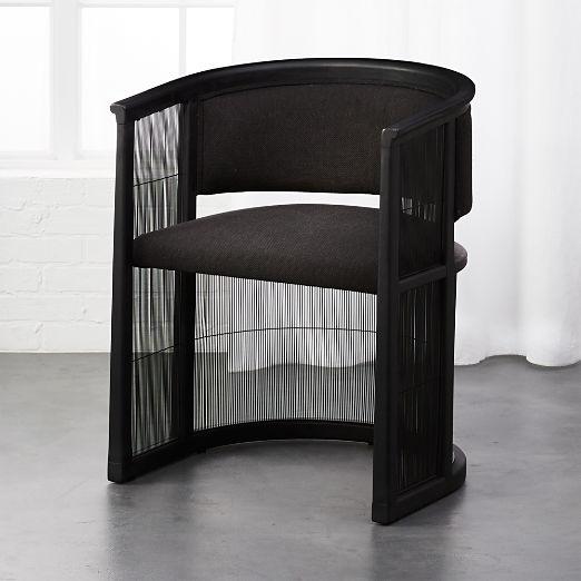 Kaishi Black Chair