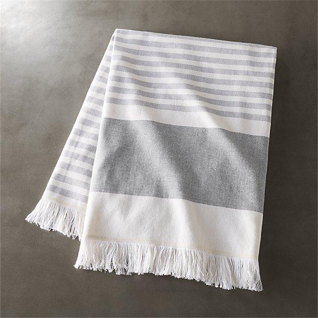 Karla Cement Bath Towel - Image 1 of 12