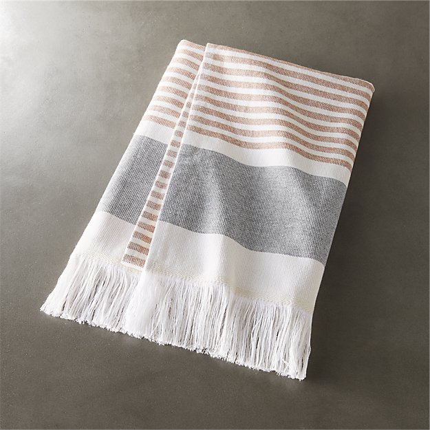 Karla Copper Hand Towel - Image 1 of 12