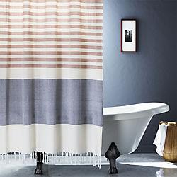 Karla Copper Shower Curtain