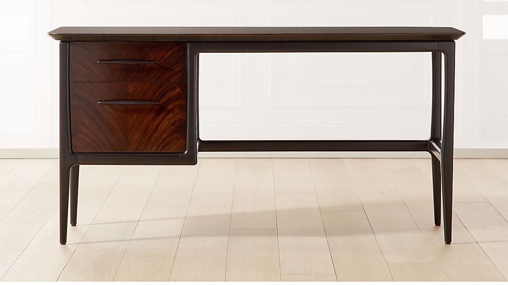 Kent Mahogany Desk - Image 1 of 8