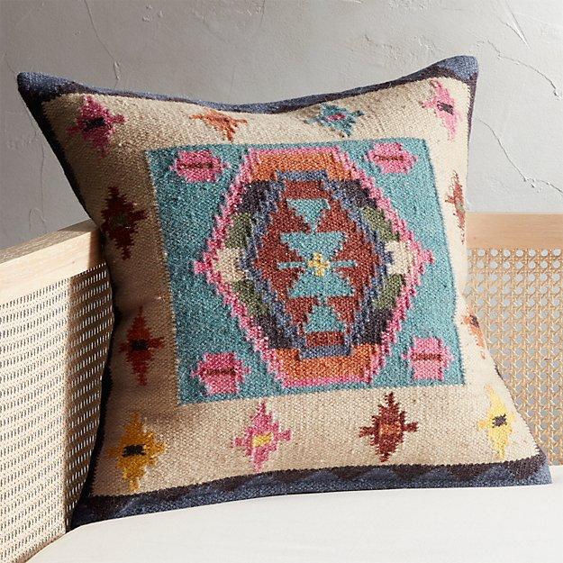 "23"" Kilim Pillow - Image 1 of 7"