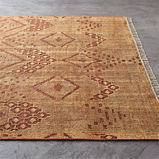 Kit Brown Hand-knotted Rug