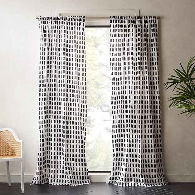 Korben Plaid Curtain Panel - Image 1 of 11