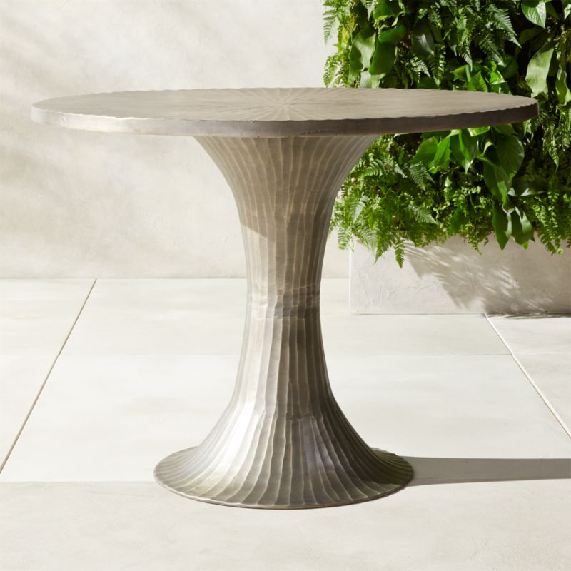 La Pera Metal Bistro Table