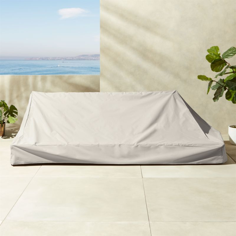Cover for outdoor furniture Large Patio Furniture Burton Waterproof Canyon Sofa Cover Cb2 Outdoor Furniture Covers Cb2
