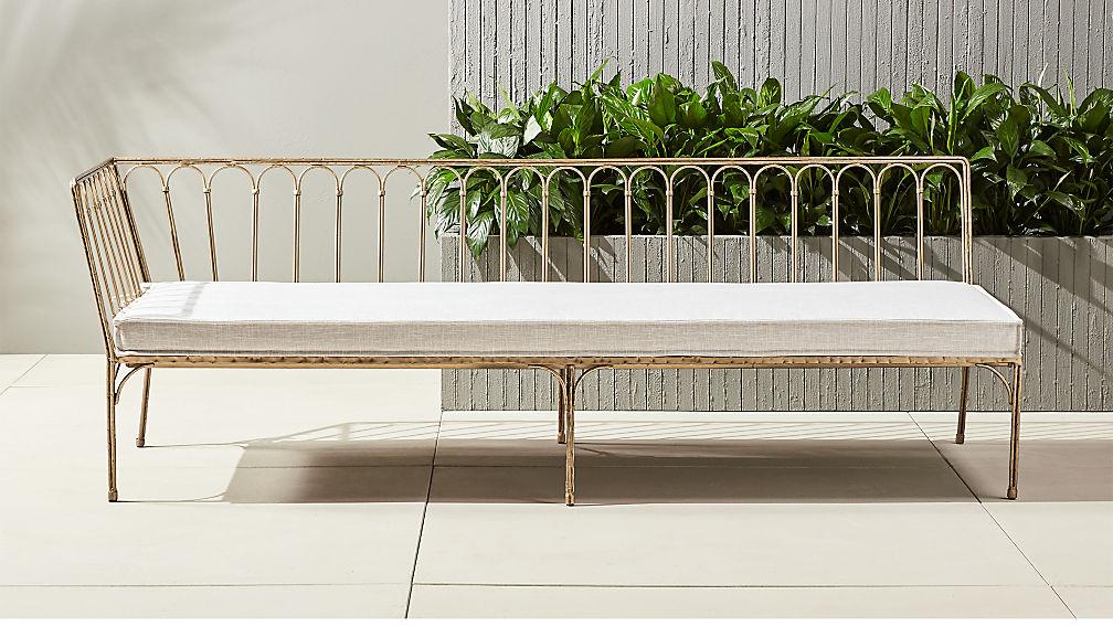 - Le Rêve Outdoor Metal Daybed + Reviews CB2