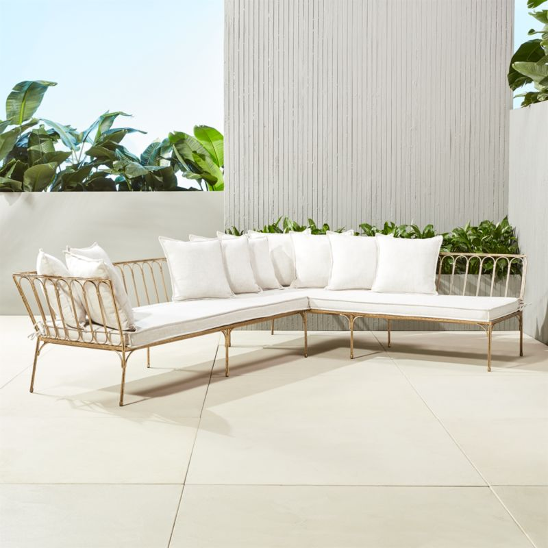 outdoor cushions | CB2