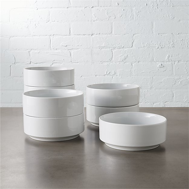 Set of 8 Ledge Soup Bowls - Image 1 of 7