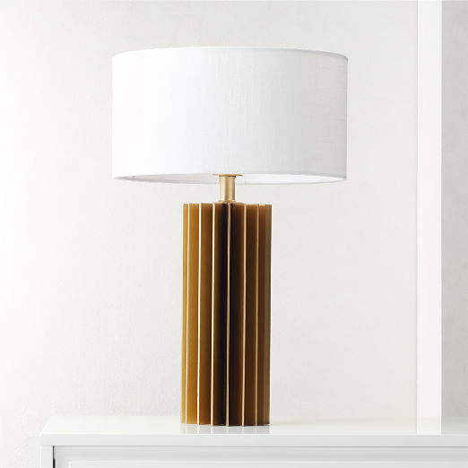 Leiden Brushed Brass Table Lamp