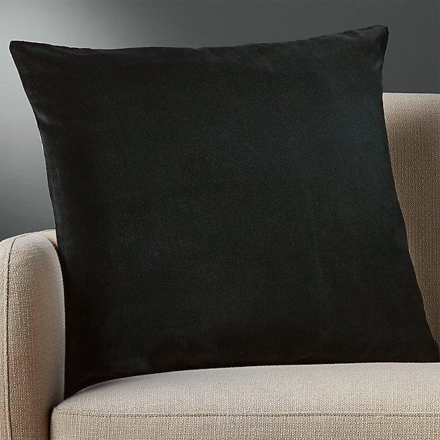 "23"" Leisure Black Pillow - Image 1 of 5"