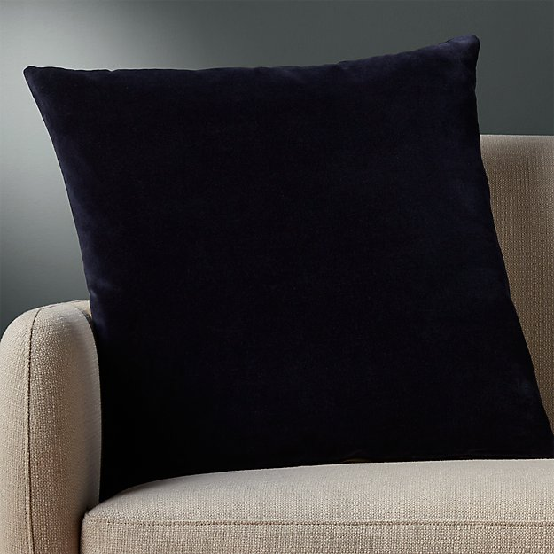 """23"""" Leisure Navy Pillow - Image 1 of 6"""
