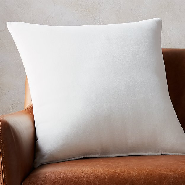 "23"" Leisure White Pillow - Image 1 of 4"