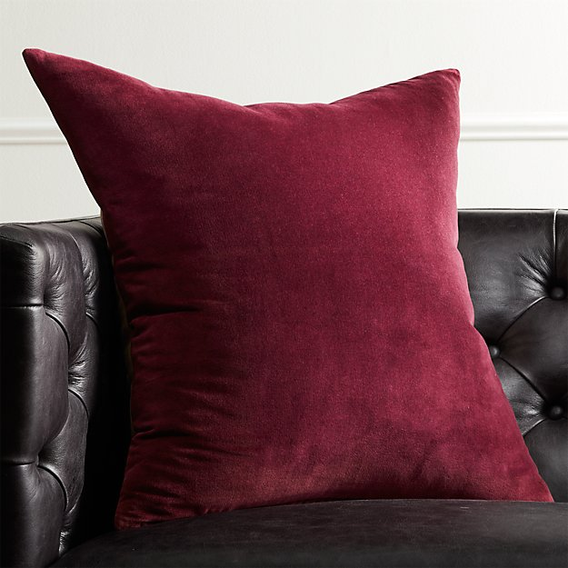 "23"" Leisure Plum Pillow - Image 1 of 8"