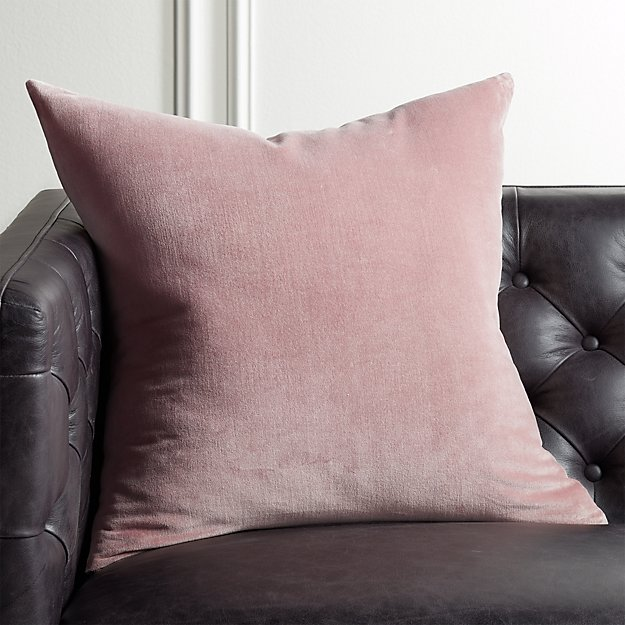 "23"" Leisure Dusty Orchid Pillow - Image 1 of 8"