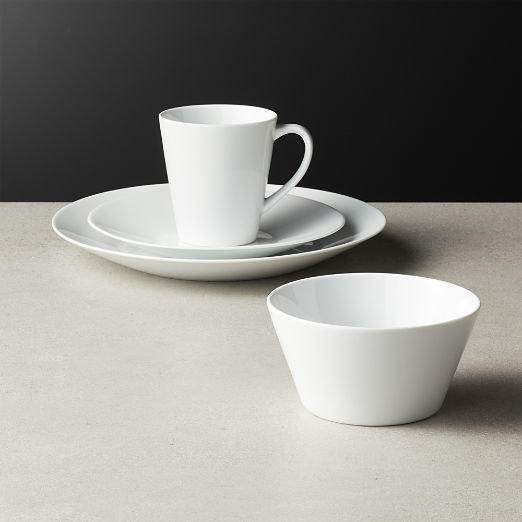 Lend White Dinnerware