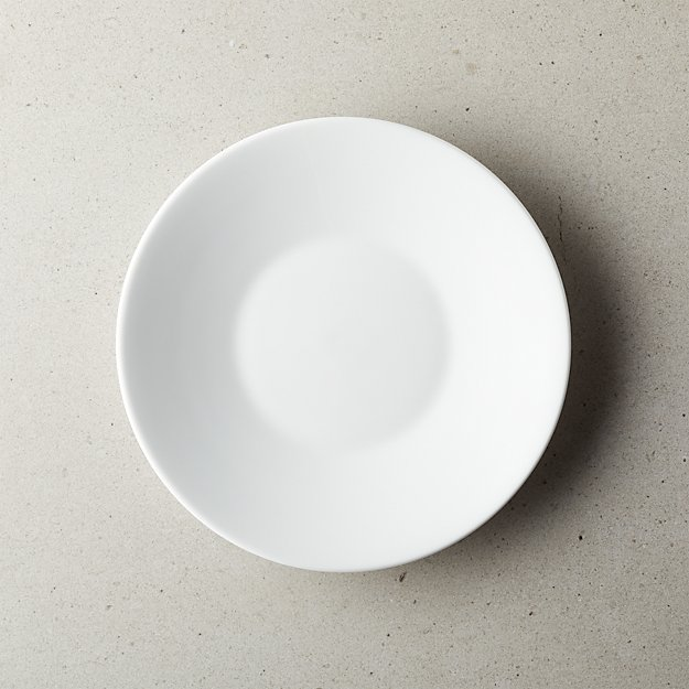 Lend White Salad Plate - Image 1 of 4