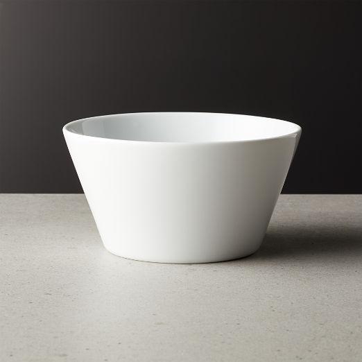 Lend White Soup Bowl