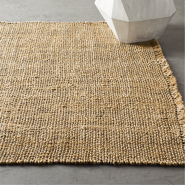 Leno Natural Handwoven Jute Rug - Image 1 of 4