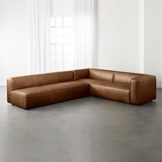 Modern Leather Furniture | CB2