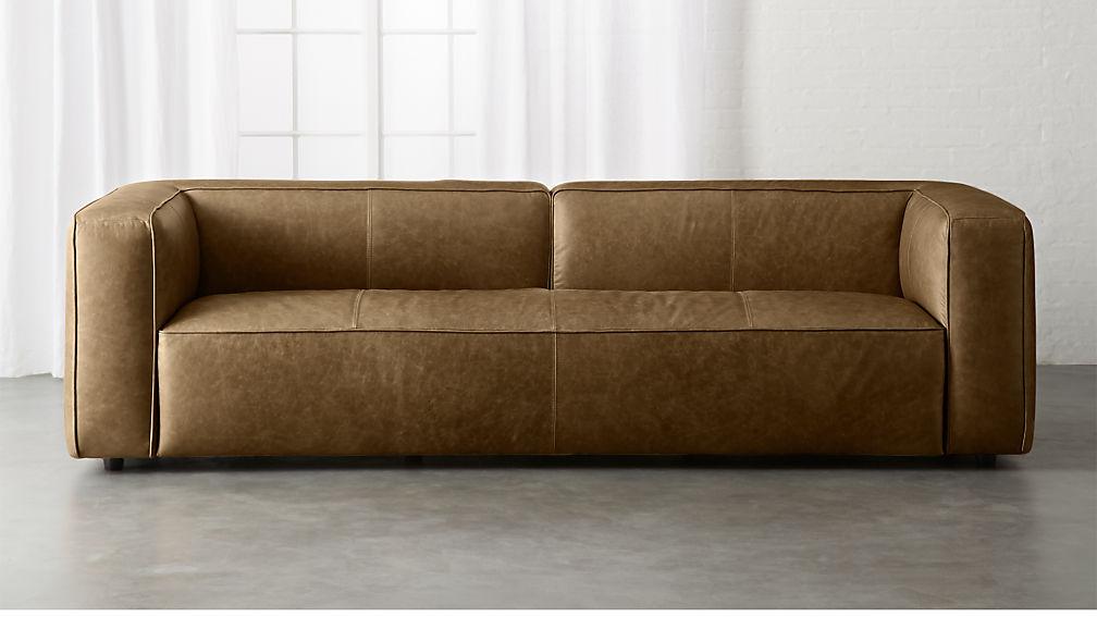 Lenyx Extra Large Leather Sofa