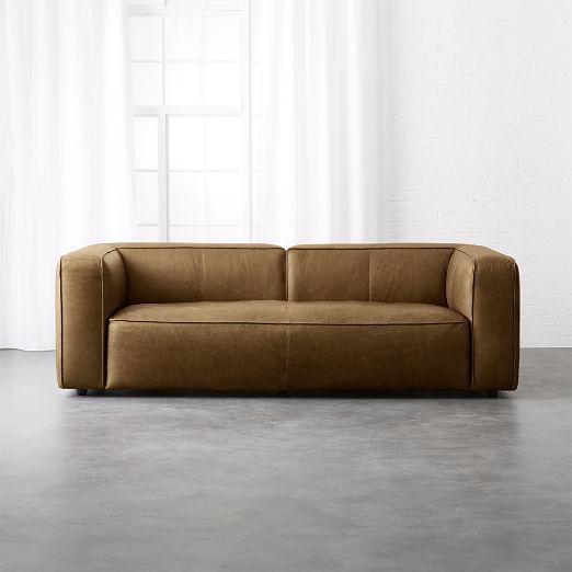 Lenyx Saddle Leather Sofa